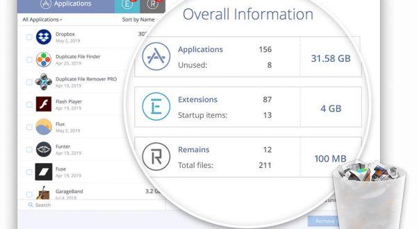 App Cleaner & Uninstaller Pro pantalla